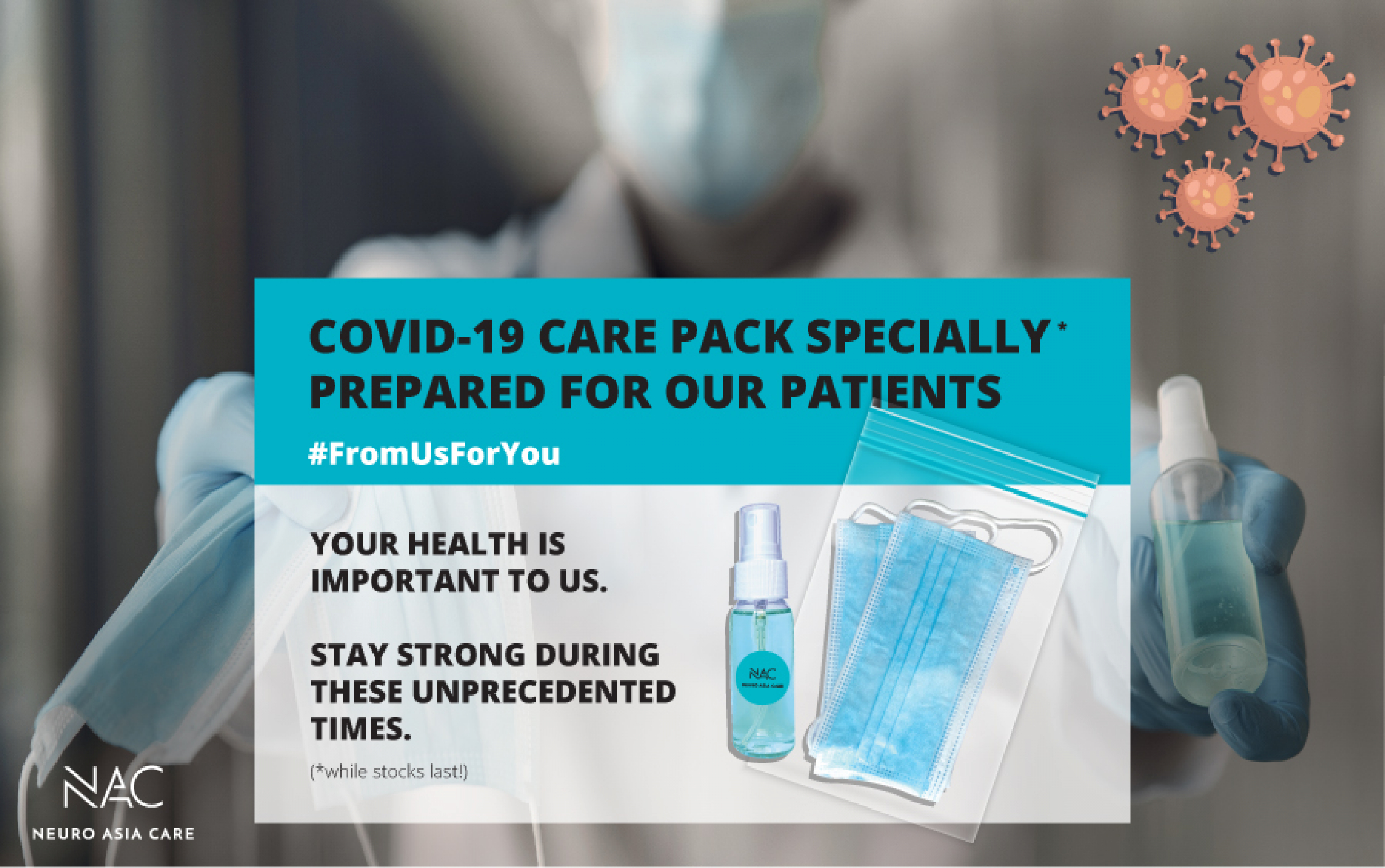 Neuro Asia Care Covid-19 Care Pack